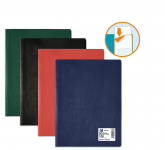 PROTEGE-DOCUMENTS OXFORD HUNTER - A4 - PVC/Polypropylène - 50 pochettes - Couleurs assorties - 100206366_8000_1562144109