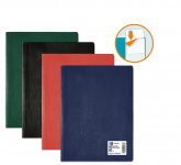 PROTEGE-DOCUMENTS OXFORD HUNTER - A4 - PVC/Polypropylène - 40 pochettes - Couleurs assorties - 100206466_8000_1562144026