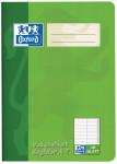 Oxford Vokabelheft - A5 - mit A-Z Register(2 Spalten) - 48 Blatt - 90 g/m² OPTIK PAPER® - geheftet - Grün und Rot - 100302812_1100_1583239688