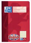Oxford Vokabelheft Englisch - A5 - Lineatur (3 Spalten) - 32 Blatt - 90 g/m² OPTIK PAPER® - 12 sprachenspezifische Informationsseiten - geheftet - Rot - 100420110_1100_1583239699