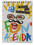 OXFORD FUN'AGENDA DIARY - 12x18 cm - Day to page - Sewn - 352 pages - Sept 19 to Sept 20 - 100735999_1100_1561068640