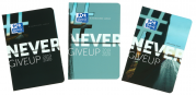 OXFORD NEVER GIVE UP DIARY - 12x18 cm - Day to page - Sewn - 352 pages - Sept 19 to Sept 20 - 100738011_1200_1553617889