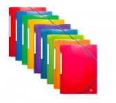 OXFORD SCHOOL LIFE 3-FLAP FOLDER - A4 - Polypropylene - Opaque/Translucent - Assorted colors - 400006522_1200_1573142760