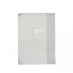 PROTEGE-CAHIER OXFORD STRONG LINE - 24x32 - Avec marque page - PVC - 150µ - Translucide - Incolore - 400006840_8000_1572883638