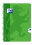 OXFORD OPENFLEX NOTEBOOK - A4 - Polypro cover - Twin-wire - Seyès squares - 100 pages - Assorted colours - 400007629_1100_1583239866