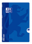 OXFORD OPENFLEX NOTEBOOK - A4 - Polypro cover - Stapled - 5x5mm squares with margin - 96 pages - Assorted colours - 400009125_1100_1583239967