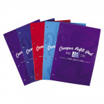 Oxford Campus A4 Headbound Refill Pad Ruled with Margin 140 Pages Assorted -  - 400013925_1200_1600868633