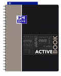 OXFORD STUDENTS ACTIVEBOOK Notebook - A4+ - Polypro cover - Twin-wire - Seyès Squares - 160 pages - SCRIBZEE® compatible  - Assorted colours - 400019519_1101_1582209252