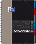 OXFORD ETUDIANTS Cahier ORGANISERBOOK - A4+ - Couverture polypro - Double spirale - Ligné 7mm - 160 pages - Compatible SCRIBZEE® - Couleurs assorties - 400037404_1101_1583240879