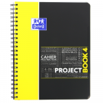OXFORD STUDENTS PROJECT BOOK Notebook - A4+ - Polypro cover - Twin-wire - Seyès Squares - 200 pages - SCRIBZEE® compatible  - Assorted colours - 400037408_1103_1579277019