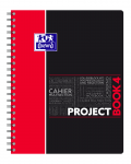 OXFORD STUDENTS PROJECT BOOK Notebook - A4+ - Polypro cover - Twin-wire - 5mm Squares - 200 pages - SCRIBZEE® compatible  - Assorted colours - 400037432_1101_1582209270