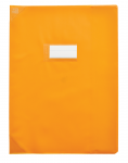 PROTEGE-CAHIER OXFORD STRONG LINE - 17X22 - PVC - 150µ - Opaque - Orange - 400050967_8000_1562153137