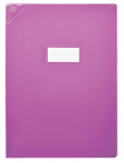PROTEGE-CAHIER OXFORD STRONG LINE - 17X22 - PVC - 150µ - Opaque - Violet - 400050981_8000_1562153150