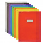 PROTEGE-CAHIER OXFORD STRONG LINE - 24X32 - PVC - 150µ -Translucide - Couleurs assorties - 400051147_8000_1561566026