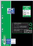 OXFORD STUDENTS DOUBLE SHEETS - A4 - Plastic film - 5mm Squares - 400 pages - Punched - SCRIBZEE® compatible - 400051590_1100_1553284249