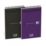 Oxford Office Essentials Bloc-Notes Task Manager - 12,5x20 cm - Couverture souple - Reliure intégrale - Ligné - 140 pages - Coloris Assortis - 400055727_1400_1583241922