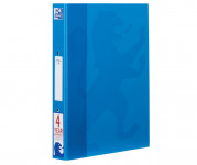 Oxford Campus A4+ 25mm 2 O-Ring Paper on Board Ring Binder Aqua -  - 400062531_1100_1561077095