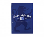 Oxford Campus A4 Headbound Refill Pad Ruled with Margin Ruled with Margin 140 Pages Navy -  - 400066642_1100_1561077077