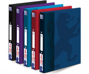 Oxford Campus A4+ 25mm 2 O-Ring Paper on Board Ring Binder Assorted -  - 400067824_1200_1553646511
