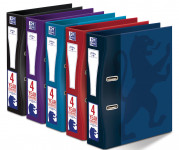 Oxford Campus A4+ 63mm Paper on Board Lever Arch File Assorted -  - 400067825_1200_1553646514