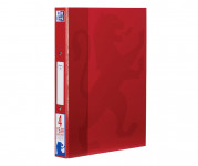 Oxford Campus A4+ 25mm 2 O-Ring Paper on Board Ring Binder Red -  - 400081128_1100_1561077159