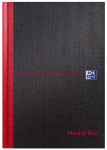 Oxford Black n' Red B5 Hardback Casebound Notebook Ruled 192 Page Black -  - 400082917_1100_1554380412