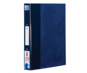 Oxford Campus A4+ 25mm 2 O-Ring Paper on Board Ring Binder Navy -  - 400084737_1100_1561077161
