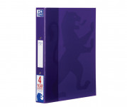 Oxford Campus A4+ 25mm 2 O-Ring Paper on Board Ring Binder Purple -  - 400084738_1100_1561077165