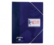 Oxford Campus A4 20 Pocket Display Book Navy -  - 400084831_1100_1561077173