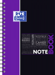 OXFORD STUDENTS NOTEBOOK - B5 - Hardback cover - Twin-wire - 5mm Squares - 160 pages - SCRIBZEE® compatible  - Assorted colours - 400100699_1105_1583196741