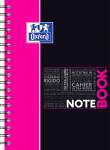 OXFORD STUDENTS NOTEBOOK - B5 - Hardback cover - Twin-wire - 7mm Ruled - 160 pages - SCRIBZEE® compatible  - Assorted colours - 400100820_1104_1583196747