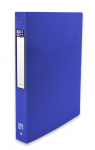 OXFORD OSMOSE RING BINDER - A4 - 40 mm spine - 4-O rings - Polypropylene - Opaque - Blue - 400105142_8000_1561110604