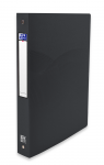 OXFORD OSMOSE RING BINDER - A4 - 40 mm spine - 4-O rings - Polypropylene - Opaque - Black - 400105143_8000_1561110606