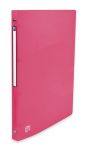 OXFORD OSMOSE RING BINDER - A4 - 20 mm spine - 4-O rings - Polypropylene - Translucent - Pink - 400105164_8000_1561110675