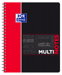OXFORD STUDENTS MULTINOTES - A4+ - Polypro cover - Twin-wire - Seyès Squares - 160 pages - SCRIBZEE® compatible  - Assorted colours - 400114568_1103_1553285238