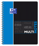 OXFORD STUDENTS MULTINOTES - A4+ - Polypro cover - Twin-wire - 5mm Squares - 160 pages - SCRIBZEE® compatible  - Assorted colours - 400114569_1101_1553285257