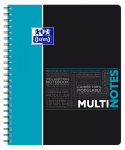 OXFORD STUDENTS MULTINOTES - A4+ - Polypro cover - Twin-wire - 7mm Ruled - 160 pages - SCRIBZEE® compatible  - Assorted colours - 400114580_1100_1553285282