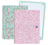 OXFORD BLOOM Europeanbook 1 - A4+ - Tapa Extradura - Cuaderno espiral microperforado - 5x5 - 80 Hojas - 2 modelos - 400116084_1200_1553700488