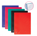 OXFORD PULSE DISPLAY BOOK - A4 - 60 pockets - Polypropylene - Assorted colors - 400122322_1200_1574075752