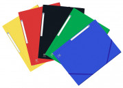 FOLDER ELASTICATED 3 FLAPS OXFORD EUROFOLIO+ A4 ASSORTED 5 COLORS PACKx10 -  - 400126512_1200_1558339730