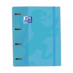 OXFORD TOUCH PASTEL EUROPEANBINDER - A4+ con Recambio 5 100 Hojas 5x5 - SCRIBZEE - AZUL PASTEL - 400127152 _1100_1563538281