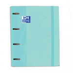 OXFORD TOUCH PASTEL EUROPEANBINDER - A4+ con Recambio 5 100 Hojas 5x5 - SCRIBZEE - ICE MINT PASTEL - 400127153    _1101_1590750765