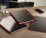 Oxford Black n' Red Wirebound Notebooks