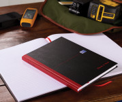 Oxford Black n' Red Casebound Notebooks