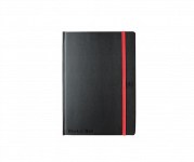 OXFORD BLACK'N RED Caderno cosido com planificador