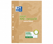 OXFORD Recycled Double sheets