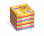 OXFORD Rainbow Memo Cube Refill + Container