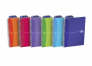 OXFORD Office My Colours Notebook - A5 - Polypropylene Cover - Twin-wire - Ruled - 180 Pages - SCRIBZEE® Compatible - Assorted Colours - 100104780_1200_1591807569