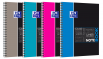 OXFORD ETUDIANTS Cahier NOTEBOOK - A4+ - Couverture carte rigide - Double spirale - Grands carreaux Seyès - 160 pages - Compatible SCRIBZEE® - Couleurs assorties - 400037405_1200_1583240888